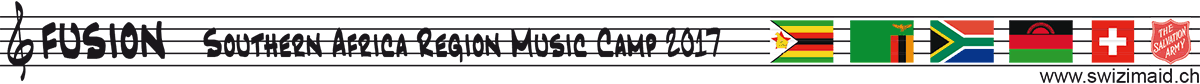Southern Africa Region Music Camp 2017